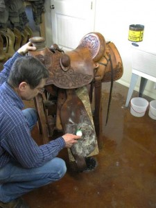 Keeping Your Saddle Clean