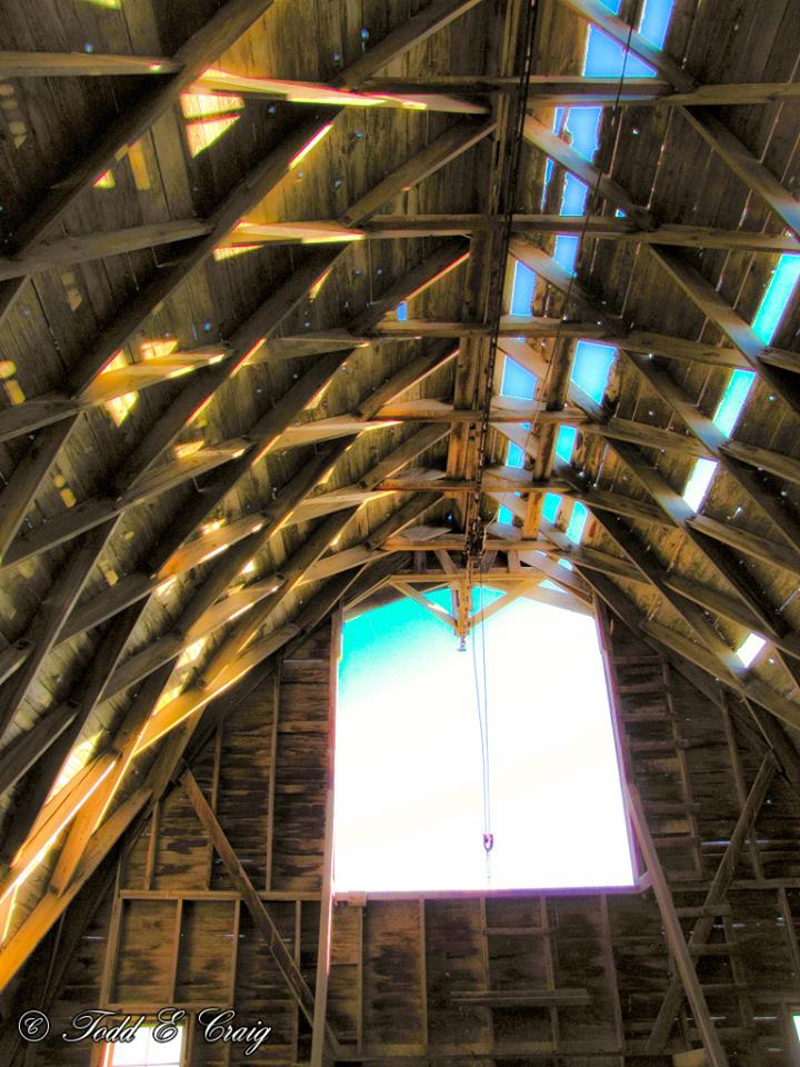 Interior of the Schwarz Barn.